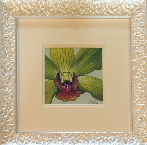 Floral Collection / Green Orchid - Giclee'