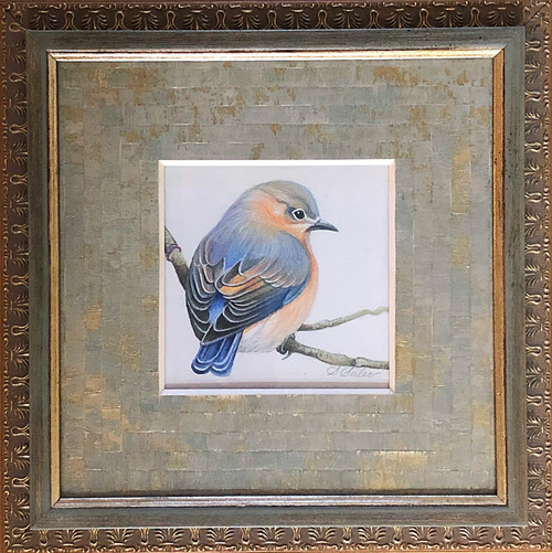 Admiration Bird / Bluebird (wc) - Giclee'