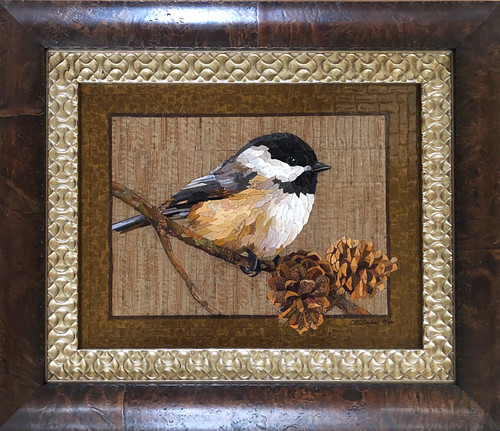 In the Pines / Chickadee - Giclee' 2/50