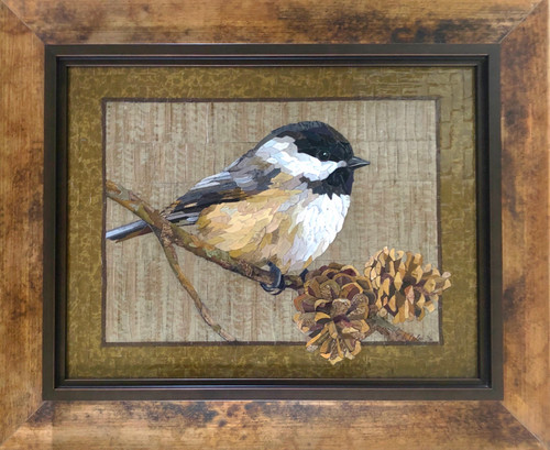 In the Pines / Large (Chickadee) - Giclee' 3/50