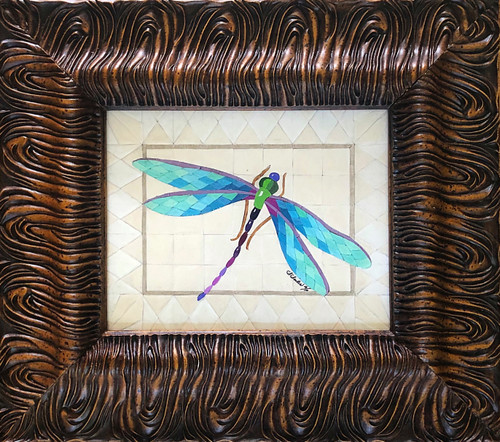 Dragonfly / Blue - Giclee' 1/50