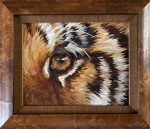 Champion / Tiger eye - Giclee' AP