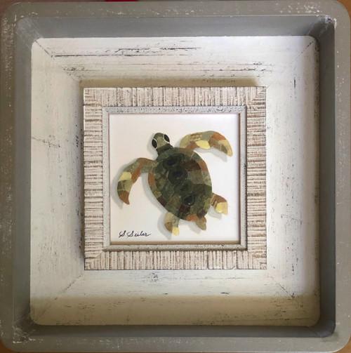 Turtle / Green - Giclee'