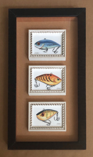 Lure Collection / Triptych 4,5,6 - Giclee'