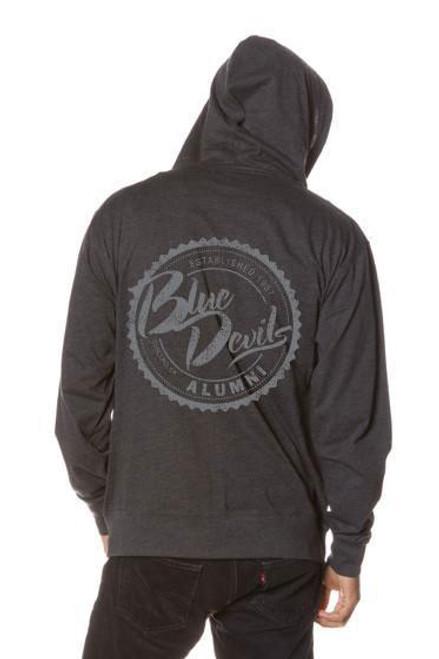Blue Devils Full Zip Alumni Jacket (Hoodie)