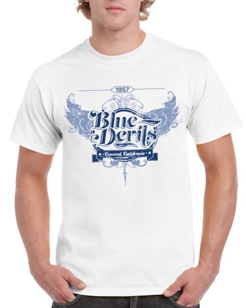 Blue Devils Adult Hipster Tee