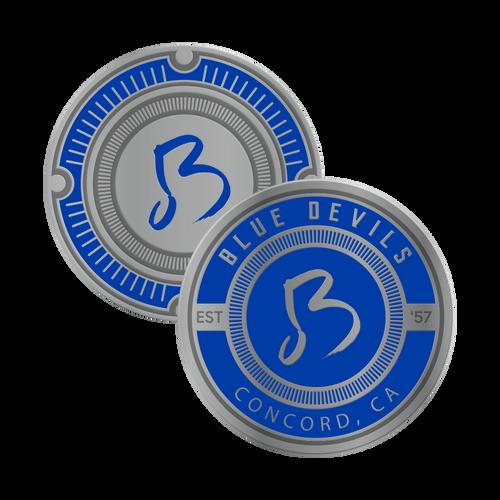 Blue Devils Challenge Coin