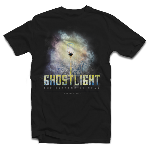 2019 Ghostlight Blue Devils Show T-Shirt