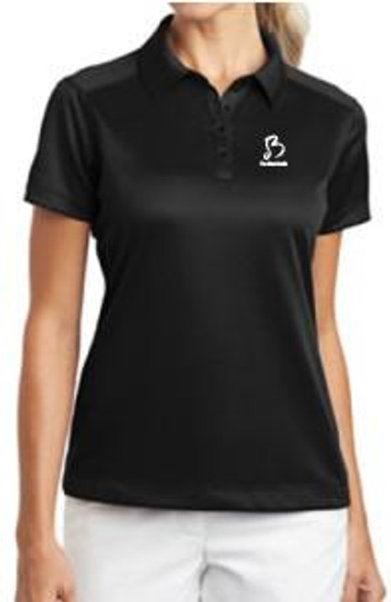Blue Devils Nike Ladies Polo (Black)