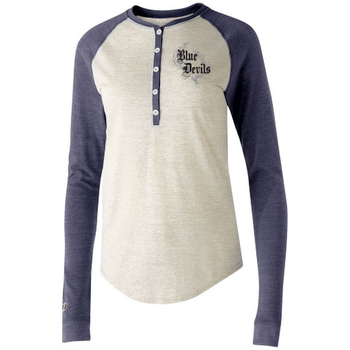 Blue Devils Ladies Henley
