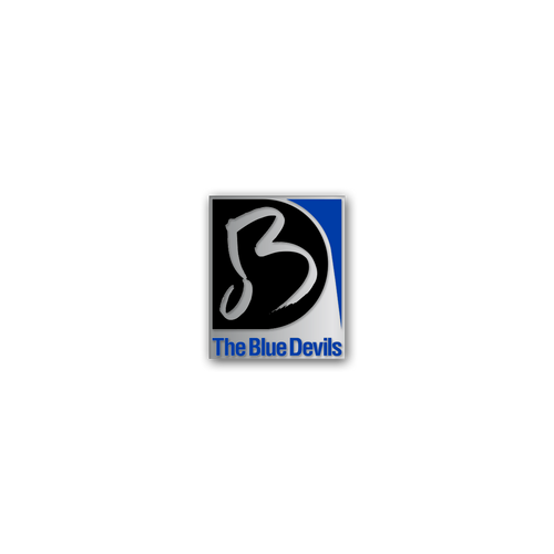 Blue Devils Logo Pin