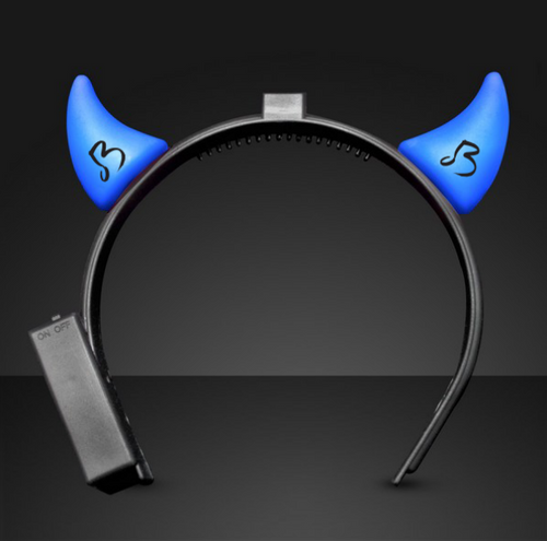 Blue Devils Light Up Horns