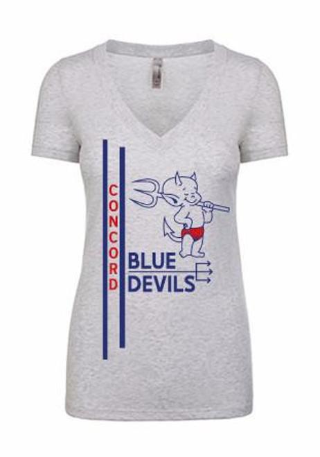 Ladies Vintage T-Shirt (Concord Blue Devils)