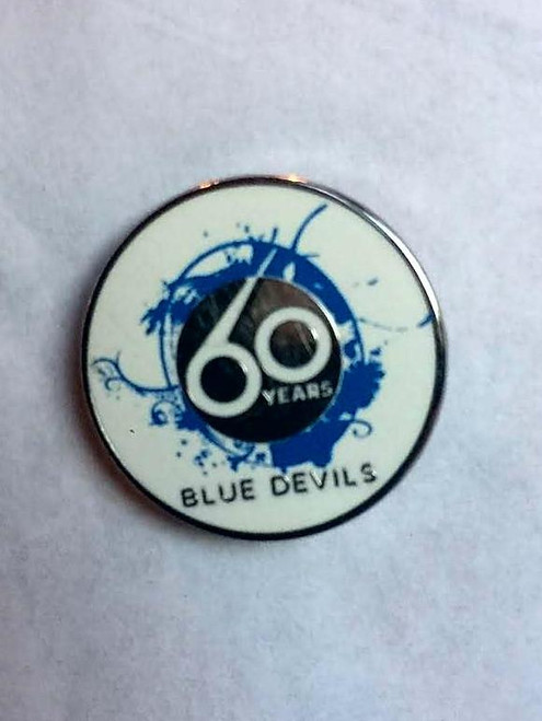 60th Anniversary Lapel Pin