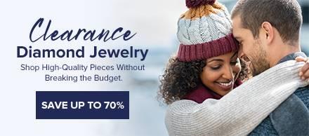 Clearance Diamond Jewelry