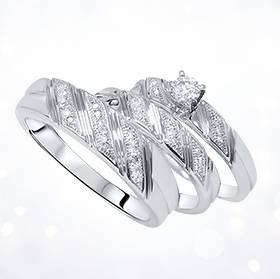 matching wedding band sets