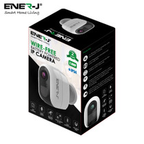 Smart WiFi Battery IP Camera 1080P With 4 Pcs AA Battery