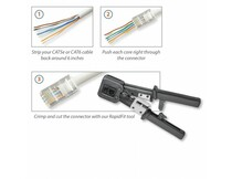 Crimp Tool for RAPID FIT RJ45 Plugs [3647]
