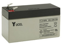 Yuasa Yucel 1.2-12AH.  12V.1.2AH Rechargeable Battery