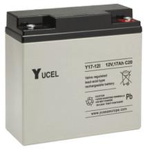 Yuasa Yucel 17-12AH.  12V.17AH Rechargeable Battery