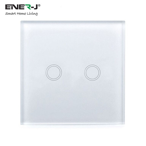2 Gang Smart WiFi Touch Switch