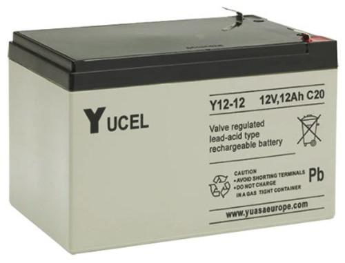 Yuasa Yucel 12-12AH.   12V.12AH Rechargeable Battery