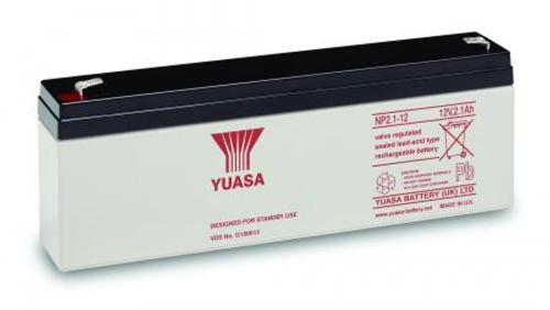 Yuasa NP2.1-12 12Volt 2.1AH Battery