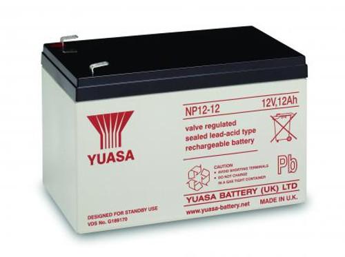 Yuasa NP12-12 12Volt 12AH Rechargeable Battery