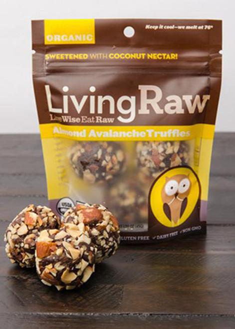 Living Raw Almond Avalanche Truffles