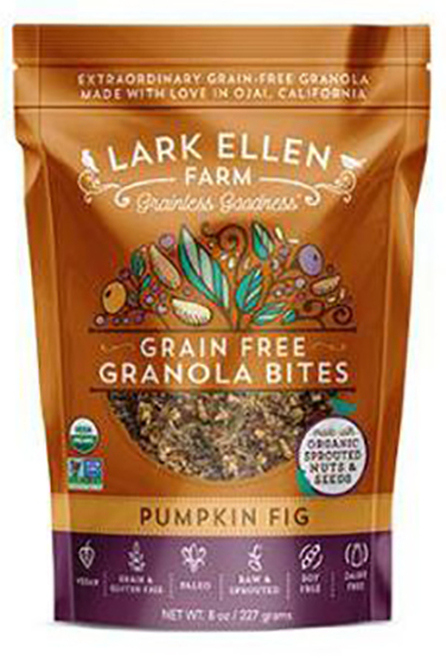 Lark Ellen Organic Pumpkin Fig Grain Free Granola Bites