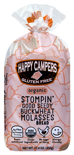 Happy Campers Stompin' Good Seedy Molasses Bread