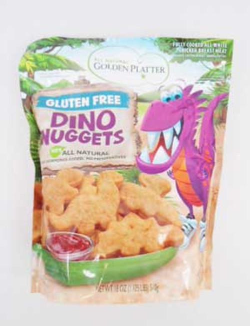 Golden Platter Foods Chicken Breast Nuggets Dino Shapes