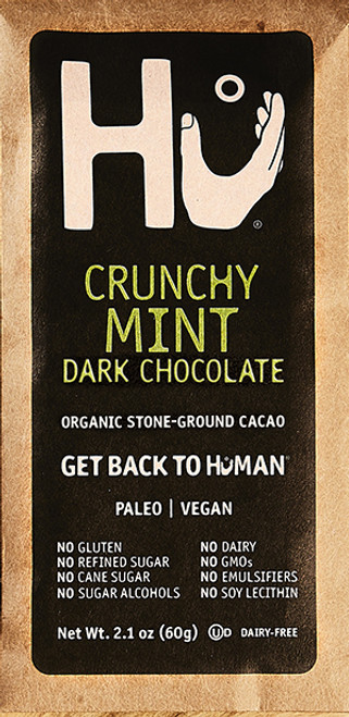 Hu Paleo Chocolate Crunchy Mint Dark Chocolate Bar