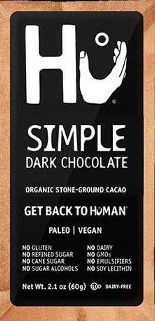 Hu Paleo Chocolate Simple Dark Chocolate Bar
