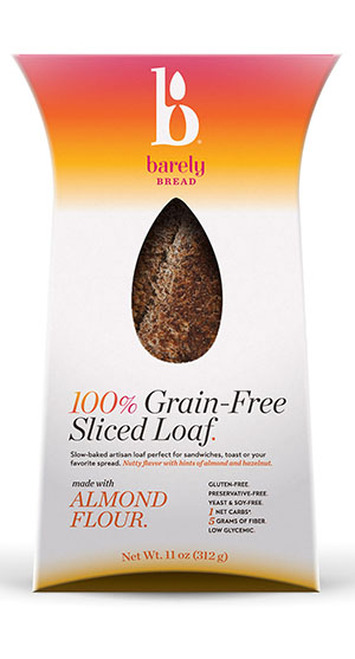 Barely Bread Grain Free Sliced Loaf