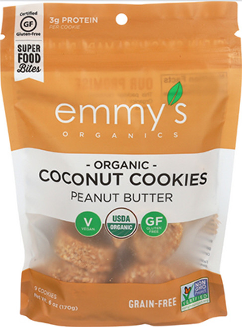 Emmy's Peanut Butter Coconut Cookies