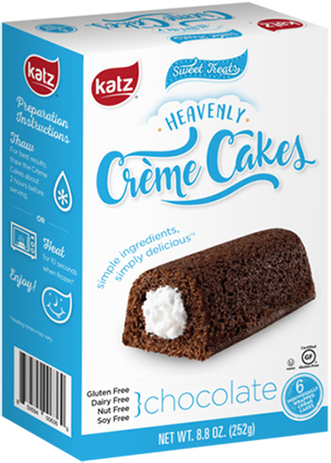 Katz Gluten Free Chocolate Heavenly Creme Cakes