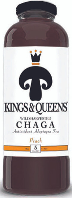 Kings & Queens Peach Chaga Tea