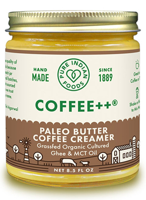 Pure Indian Foods Cultured Ghee & MCT Oil Coffee Creamer, Paleo