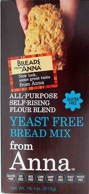 Breads From Anna Yeast-Free All-Purpose  Gluten-Free Flour Blend & Bread Mix