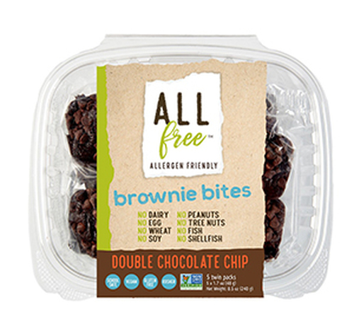 All Free Double Chocolate Brownie Bites