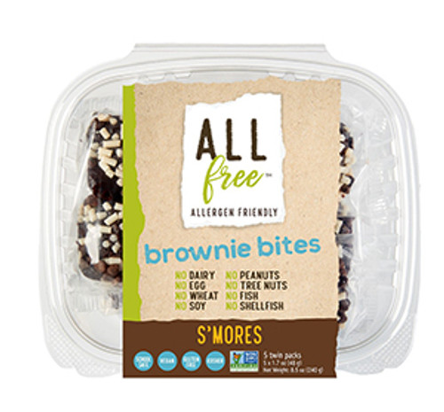All Free S'Mores Brownie Bites
