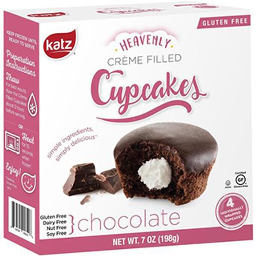 Katz Gluten Free Chocolate Creme Filled Cupcakes