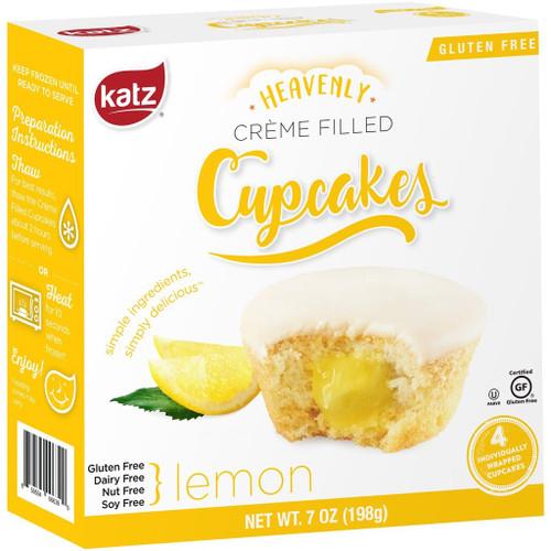 Katz Gluten Free  Lemon Creme Filled Cupcakes