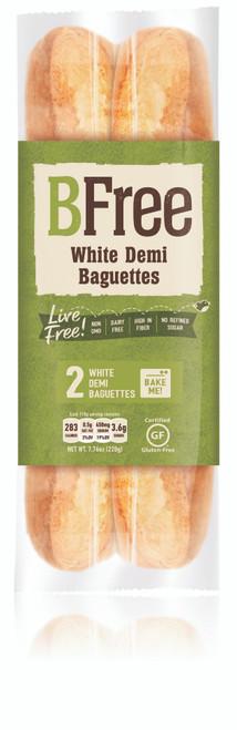BFree Gluten Free Bake at Home White Plain  Baguettes (2/pk) FROZEN