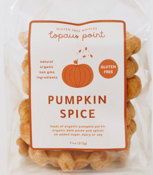 Lopaus Point Gluten Free Waffles Pumpkin Spice