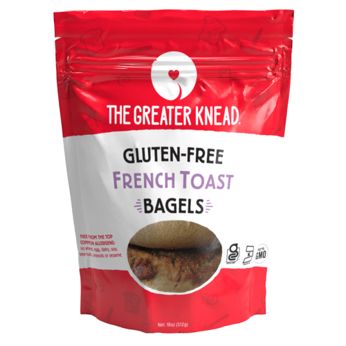 The Greater Knead Gluten Free French Toast Bagels (4/pk) (FROZEN)