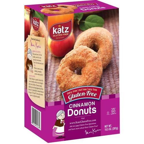Katz Gluten Free Cinnamon Donuts (6/pk) (FROZEN)