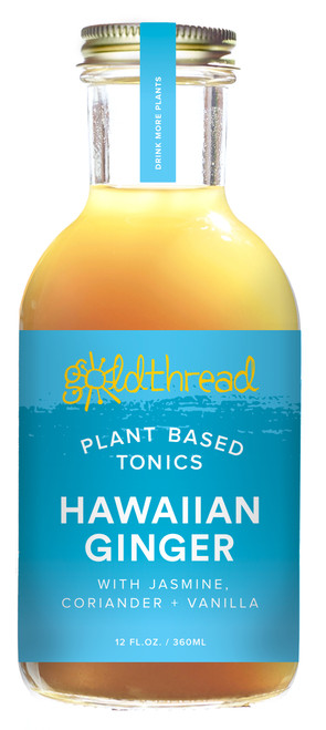 Goldthread Hawaiian Ginger Plant-Based Tonic