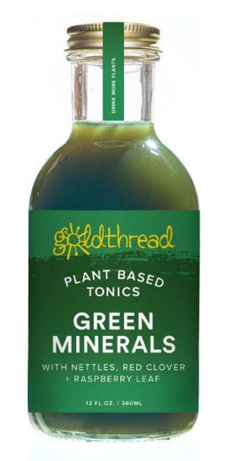 Goldthread Green Minerals Plant-Based Tonic
